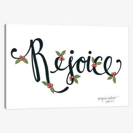 Rejoice with Berries Canvas Print #LPT39} by Annie LaPoint Canvas Wall Art
