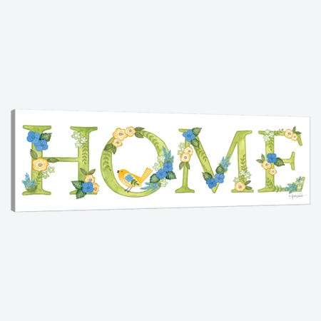 Hydrangeas in Bloom Home Canvas Print #LPT42} by Annie LaPoint Art Print