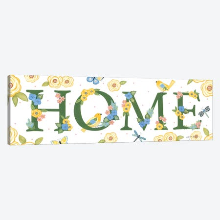 Bloom & Grow Home Canvas Print #LPT48} by Annie LaPoint Canvas Print