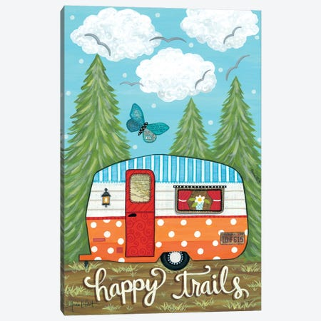 Happy Trails Canvas Print #LPT51} by Annie LaPoint Canvas Art
