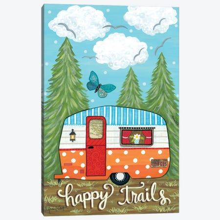 Happy Trails Canvas Print #LPT51} by Annie LaPoint Canvas Art