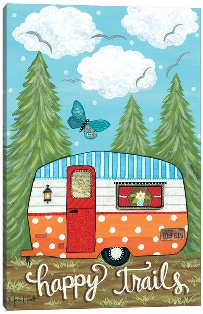 Happy Trails Canvas Art Print