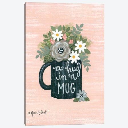 Hug a Mug Canvas Print #LPT52} by Annie LaPoint Canvas Art