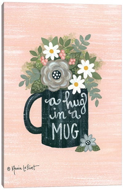 Hug a Mug Canvas Art Print