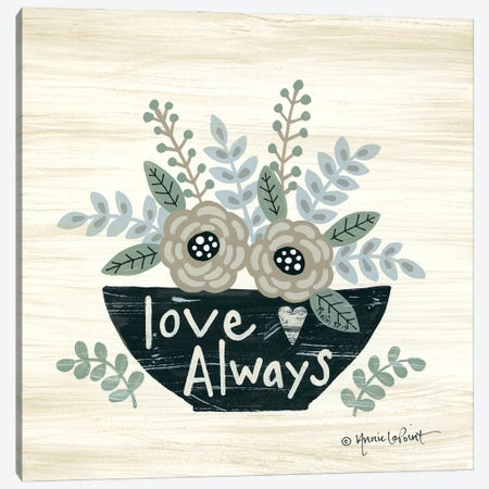 Love Always Canvas Print #LPT55} by Annie LaPoint Canvas Print