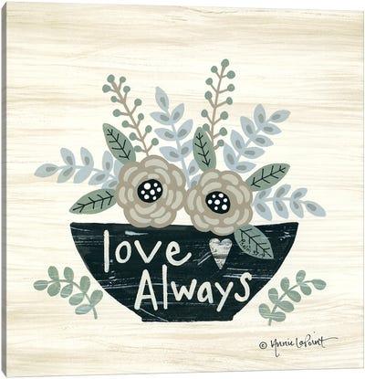 Love Always Canvas Art Print