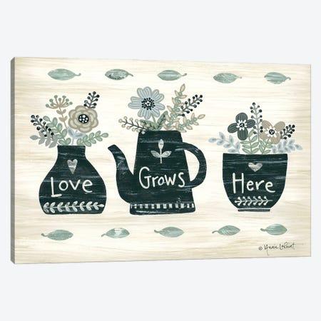 Love Grows Here Canvas Print #LPT56} by Annie LaPoint Canvas Print