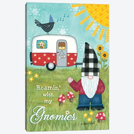 Roamin With My Gnomies Canvas Print #LPT59} by Annie LaPoint Canvas Wall Art