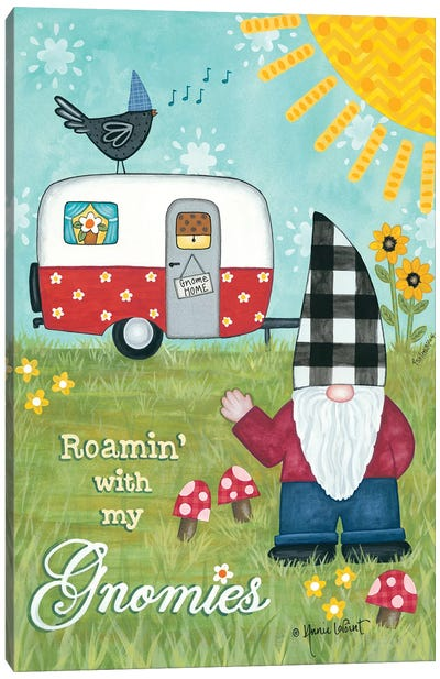 Roamin With My Gnomies Canvas Art Print