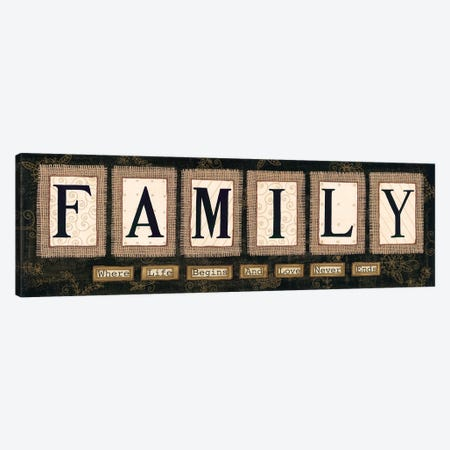 Family Canvas Print #LPT62} by Annie LaPoint Canvas Art Print