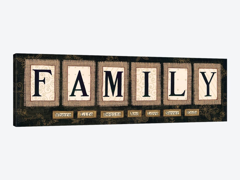 Family by Annie LaPoint 1-piece Canvas Art