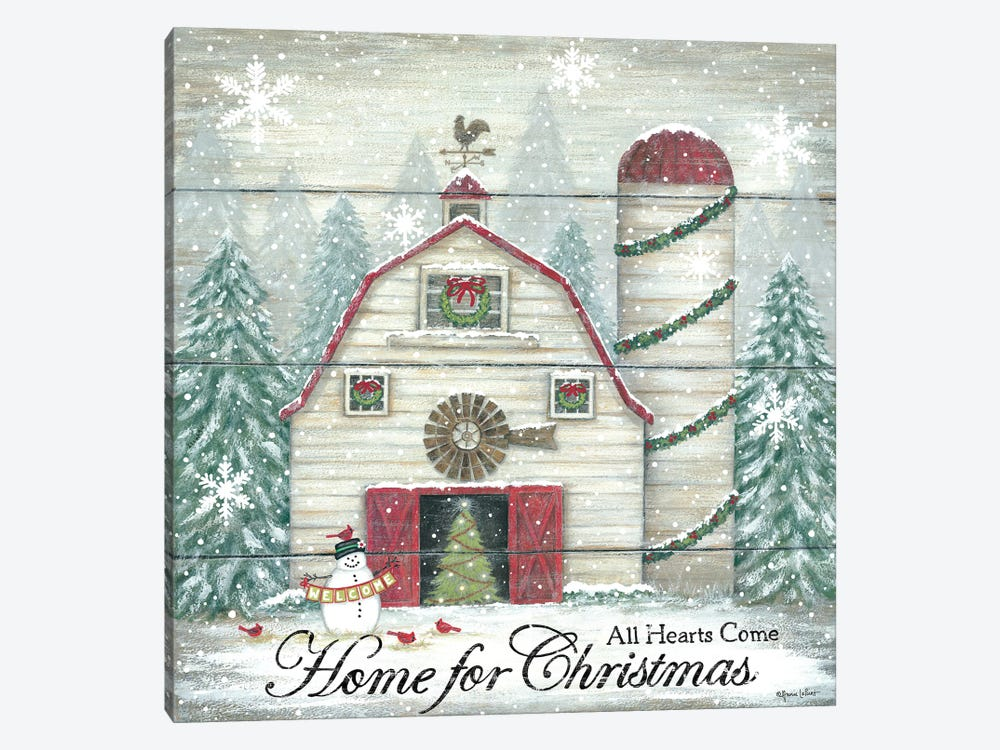 Home For Christmas by Annie LaPoint 1-piece Canvas Art Print