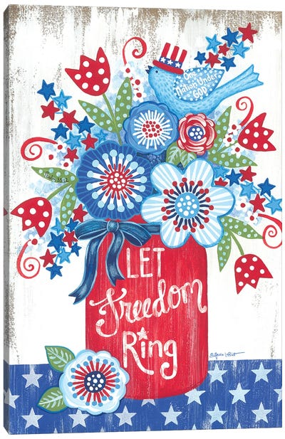 Let Freedom Ring Canvas Art Print
