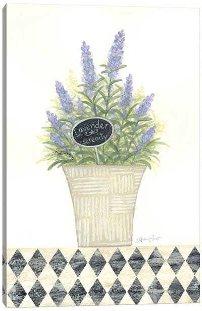 Lavender Serenity Canvas Art Print
