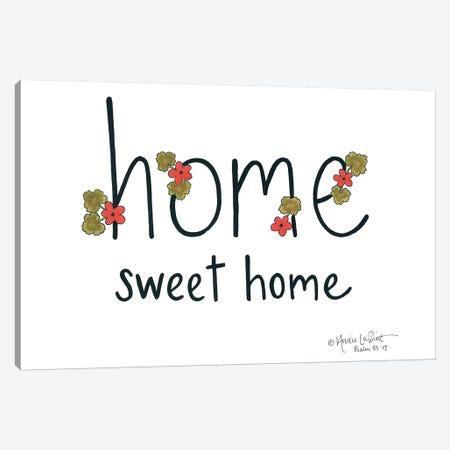 Home Sweet Home Canvas Print #LPT8} by Annie LaPoint Canvas Wall Art