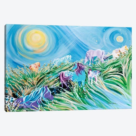 Dancing In The Wind Canvas Print #LRA13} by Linda Rauch Canvas Art