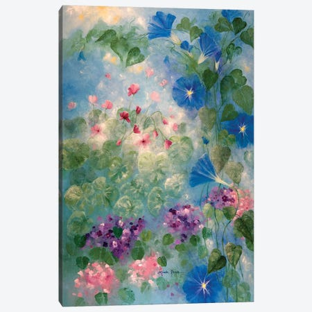 Early Morning Glory 3-Piece Canvas #LRA15} by Linda Rauch Art Print