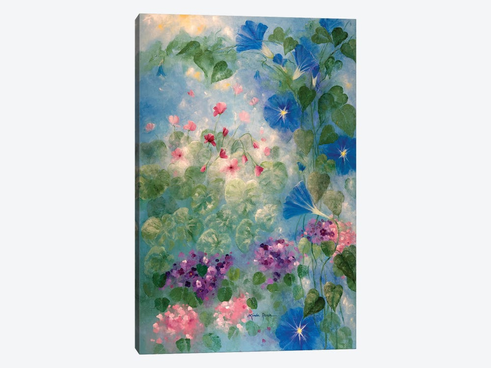 Early Morning Glory by Linda Rauch 1-piece Canvas Print