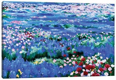 Oceans Of Wildflowers Canvas Art Print