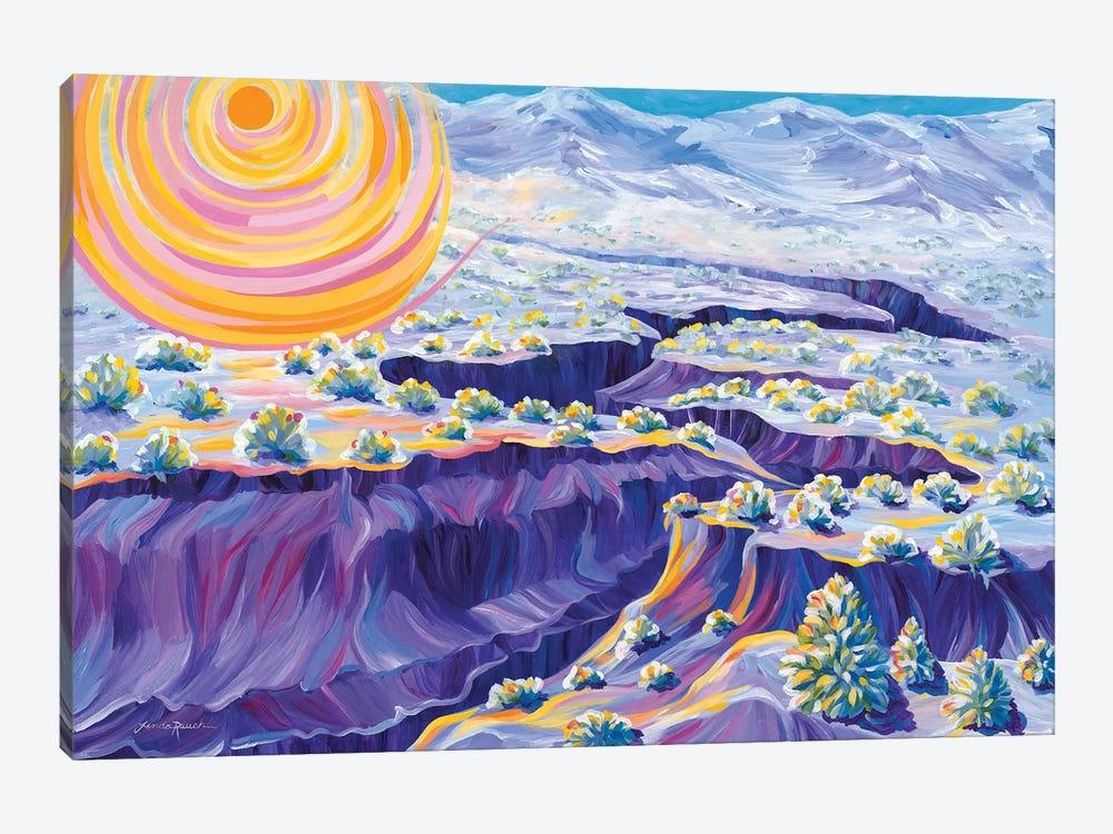 Powdered Sugar Morning by Linda Rauch 1-piece Art Print