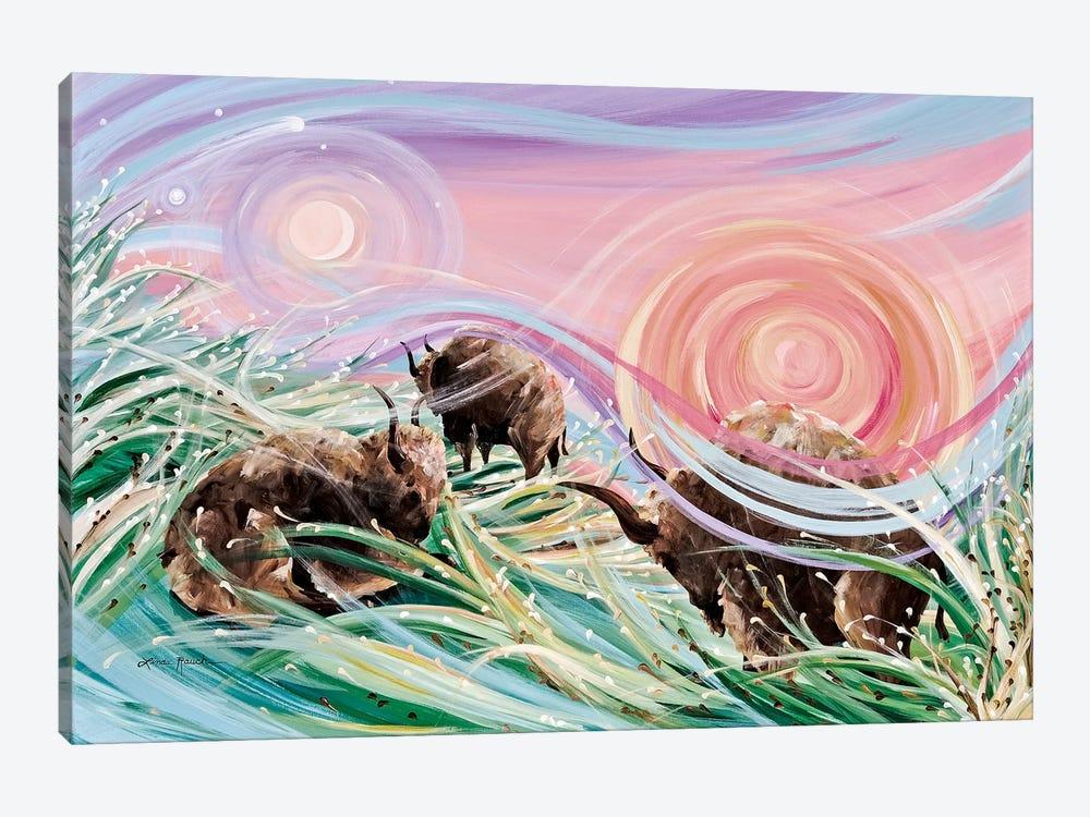 Sky Rainbows by Linda Rauch 1-piece Canvas Art Print