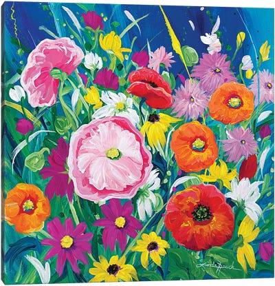 Wildflower Salsa Canvas Art Print