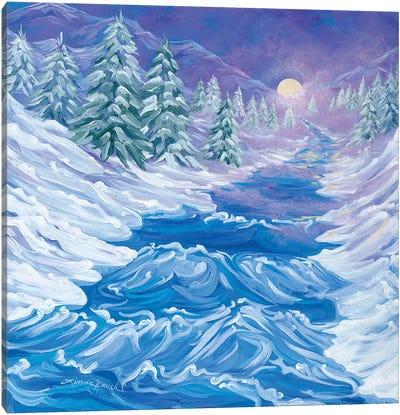 River Song Canvas Art Print