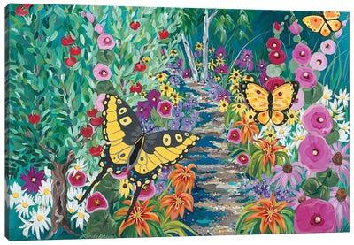 Seceret Garden Canvas Art Print