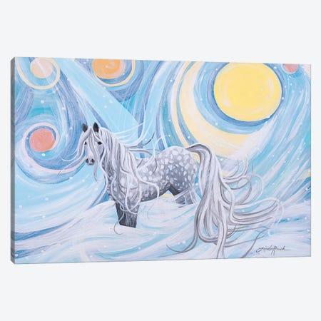 Northern Lights 3-Piece Canvas #LRA61} by Linda Rauch Canvas Print