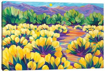 Lemon Meringue Afternoon Canvas Art Print