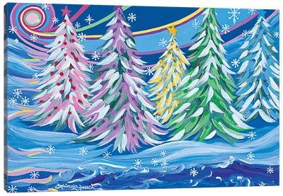 Christmas On The Rio Canvas Art Print
