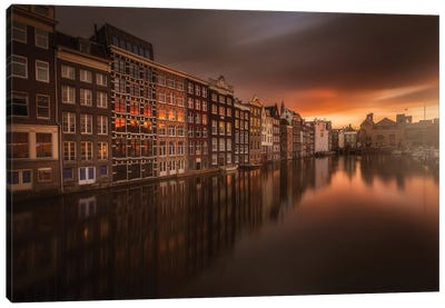 Amsterdam #1 Canvas Art Print