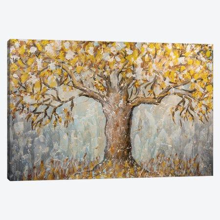 Golden Autumn Canvas Print #LRC16} by Larisa Chigirina Art Print