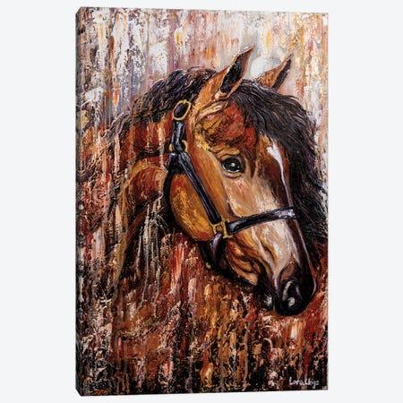 Horse Canvas Print #LRC19} by Larisa Chigirina Canvas Wall Art