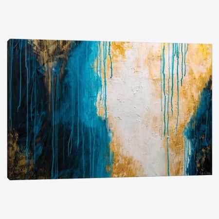 Lagoon Canvas Print #LRC25} by Larisa Chigirina Canvas Wall Art