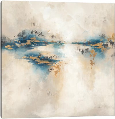 Indigo Light Canvas Art Print