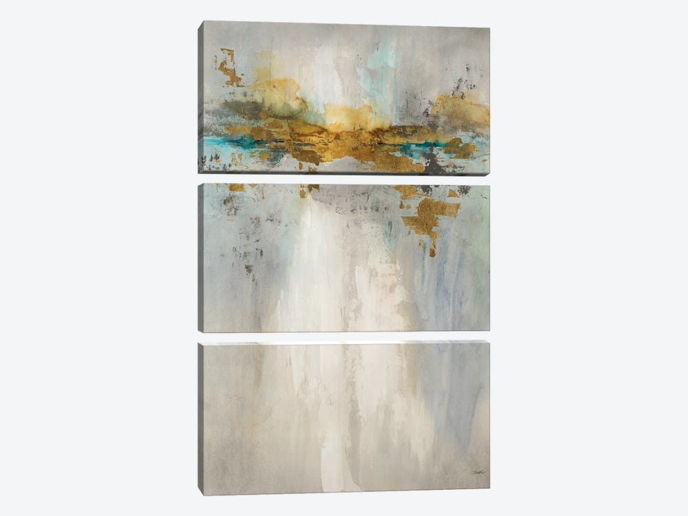 Rising Reflection by Leah Rei 3-piece Canvas Wall Art