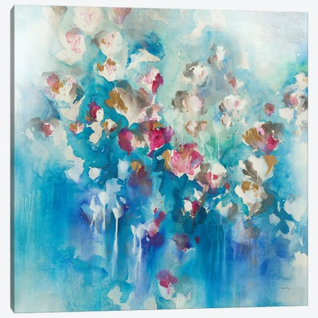 Florets Canvas Print #LRE3} by Leah Rei Canvas Artwork