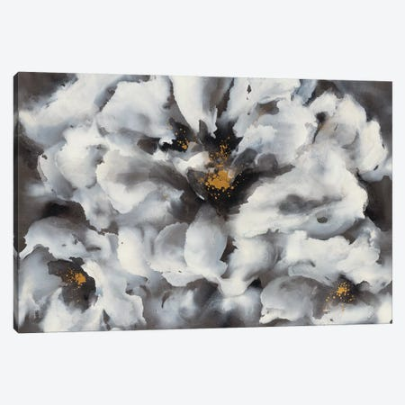 Peonia 3-Piece Canvas #LRE7} by Leah Rei Canvas Print