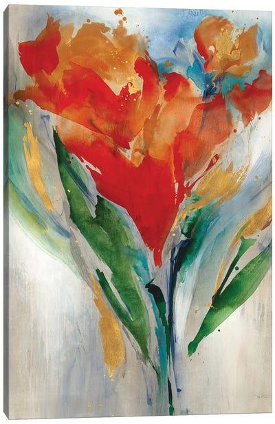 Wild Flower Bouquet Canvas Art Print