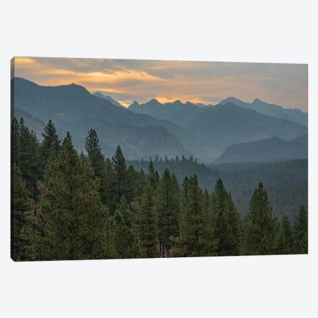 Sunrise Over The Sawtooths Mountains Canvas Print #LRH106} by Louis Ruth Canvas Art Print