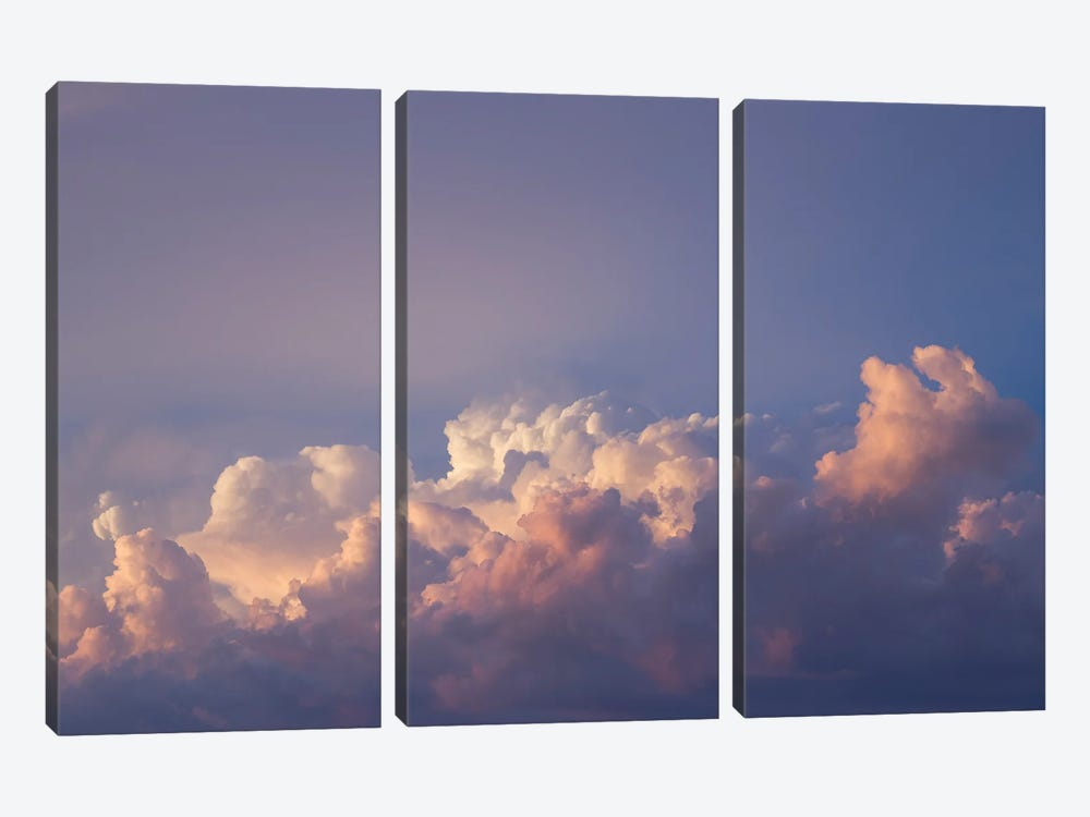 Sunset One by Louis Ruth 3-piece Canvas Print