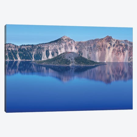 Wizard Island Canvas Print #LRH120} by Louis Ruth Canvas Wall Art