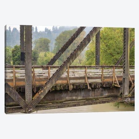 A Bridge With A View Canvas Print #LRH124} by Louis Ruth Art Print