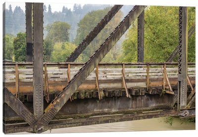 A Bridge With A View Canvas Art Print
