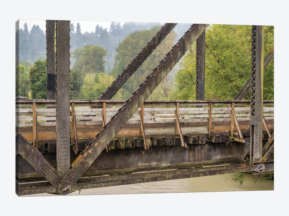 A Bridge With A View by Louis Ruth 1-piece Canvas Art Print