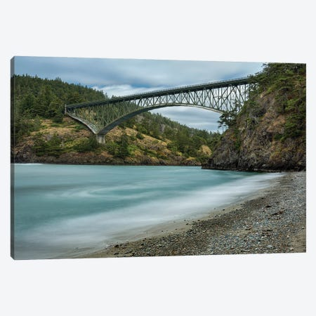 Deception Pass Canvas Print #LRH132} by Louis Ruth Art Print