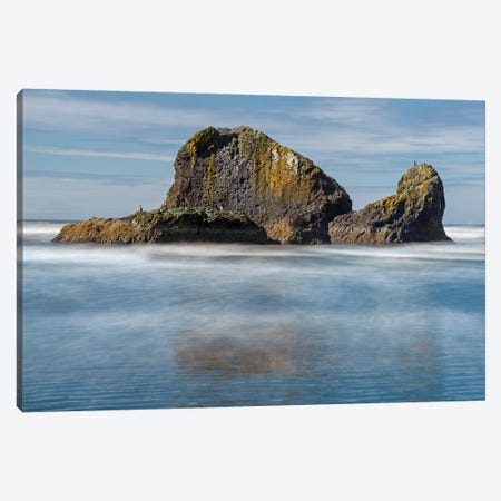 Ghosted Waters Canvas Print #LRH136} by Louis Ruth Canvas Wall Art