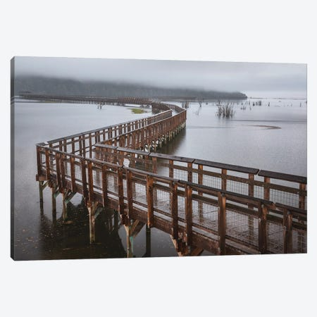 Nisqually Estuary Boardwalk Trail Canvas Print #LRH147} by Louis Ruth Canvas Print