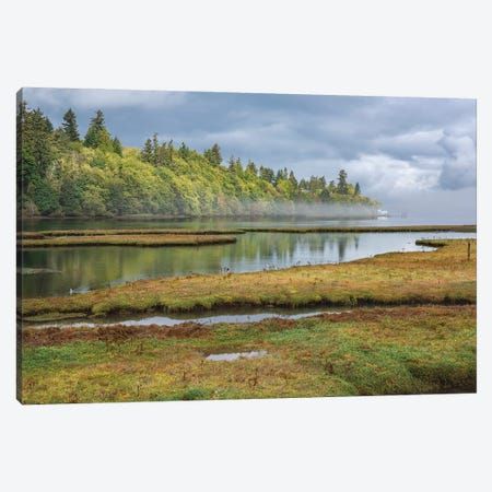 Nisqually National Wildlife Canvas Print #LRH148} by Louis Ruth Canvas Wall Art
